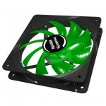Mars Gaming MF12B Ventola Gaming da 120mm Green Light